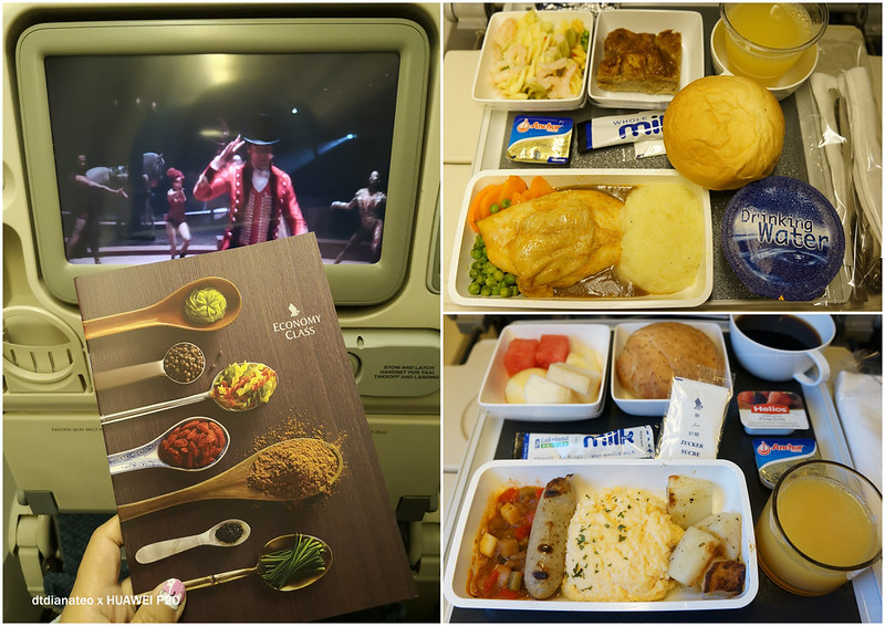 2018 Singapore Airlines In-Flight Meal