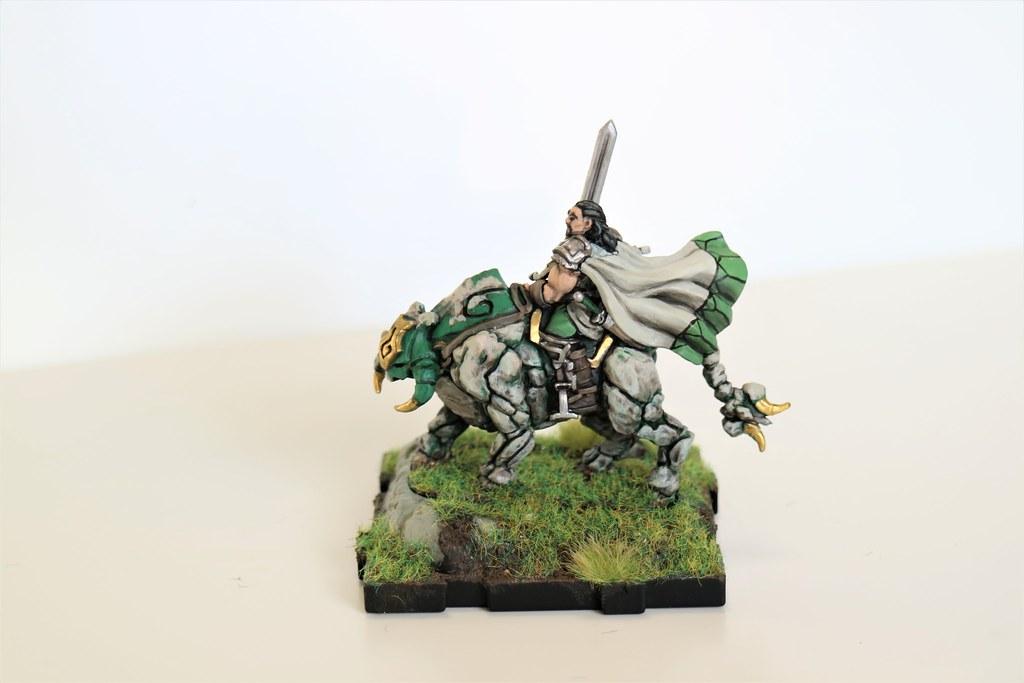 Runewars Miniatures Baron Zachareth Mounted