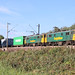 Freightliner's 86610 & 86607 at Rivenhall