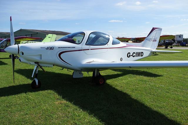 Alpi Aviation Pioneer 400  G-CIMD, RICOH PENTAX K-70, smc PENTAX-DA L 18-50mm F4-5.6 DC WR RE