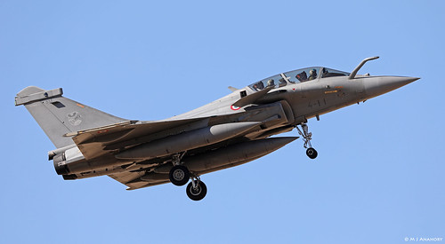 Armée de l'Air Dassault Rafale B 334/4-II, TLP 2018-3, Albacete AFB/LEAB