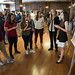 Doctoral physical therapy students present their research during the  College of Public Health's Doctor of Physical Therapy Student Evidence-based Practice Day at Mitten Hall on Friday, October 19.