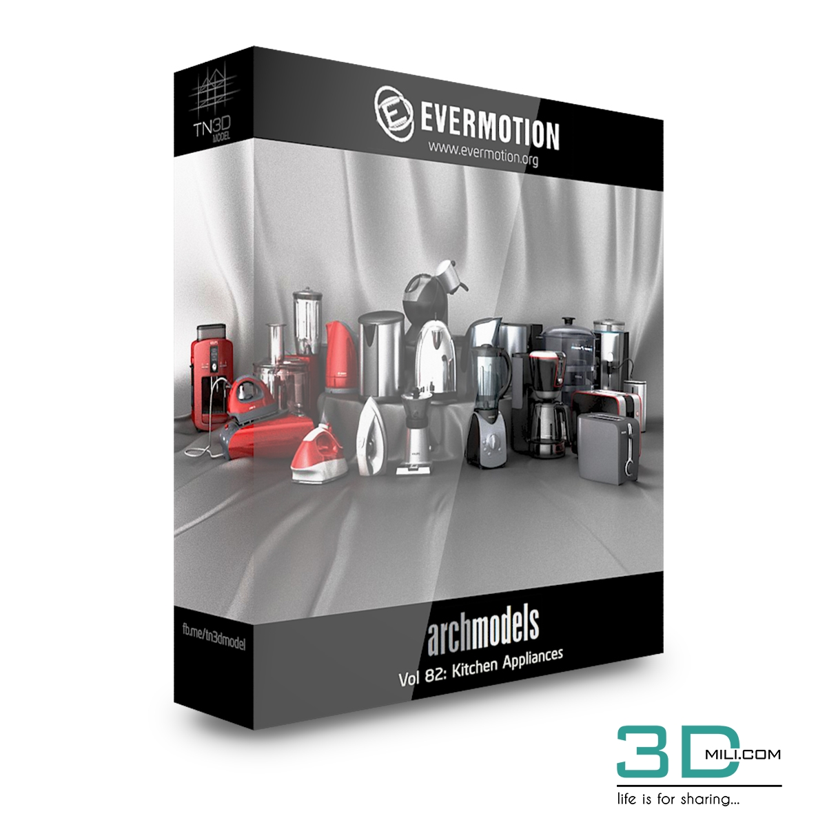 Evermotion Archmodels Vol 82 Kitchen Appliances 3d Mili