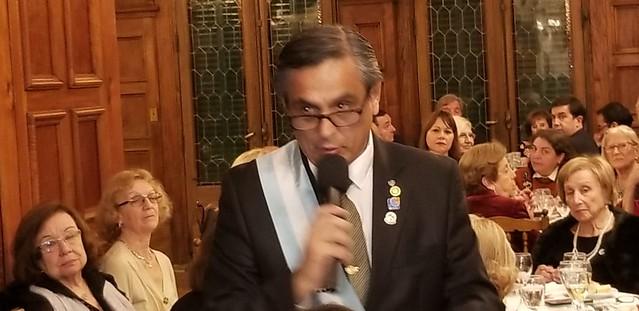 Presidente entrante Victor Perez