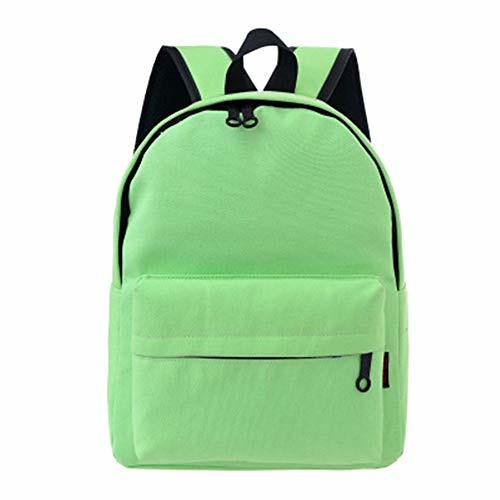 Cheap Urmiss Canvas Backpack Casual School Bag Travel Daypack for Girl (Green)
