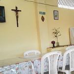 Ein typisches einheimisches Restaurant in Ecuador
