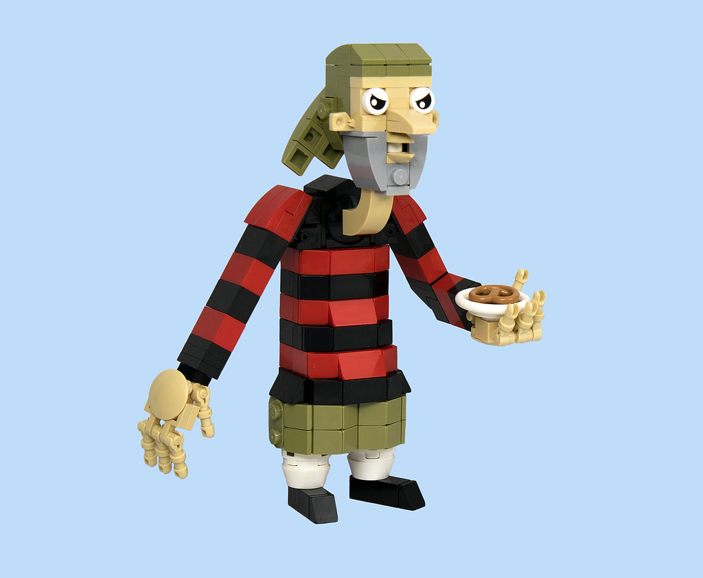 LEGO® MOC by Vitreolum: Tony DiBoulda