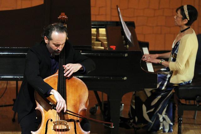 """31 FESTIVAL DE MÚSICA ESPAÑOLA - MARCOS MACHADO, CONTRABAJO & QI SHEN, PIANO - AUDITORIO """"ÁNGEL BARJA"""" CONSERVATORIO DE LEÓN 27.9.18"""