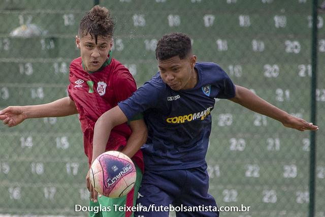 Portuguesa Santista 2 x 1 Osvaldo Cruz. Partida válida pelo Campeonato Paulista Sub-15 de 2018, disputada no dia 29 de setembro, em Ulrico Mursa