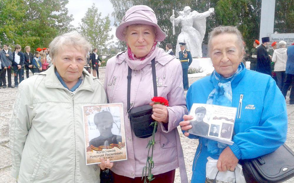 Племянницы лейтенанта Николая Яковлевича Колесникова