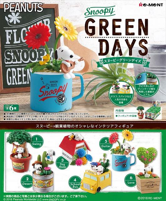 RE-MENT《史奴比》「植栽的日子篇」療癒登場!SNOOPY GREEN DAYS