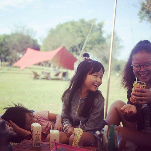 20181007 孩子們的笑點 低到我完全不懂啊 #歐北露 #campinglife #ilovecamping #ilovekids #沒有朋友怎麼辦 #有伴真好