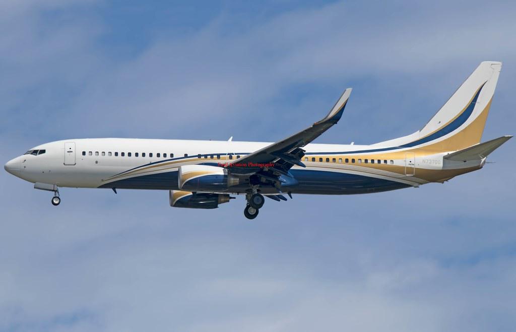 Mid East Jet Boeing 737-8KT(BBJ2) N737GG