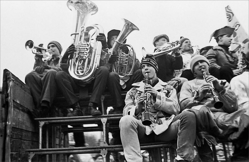 1987. Духовой оркестр в Парке Горького