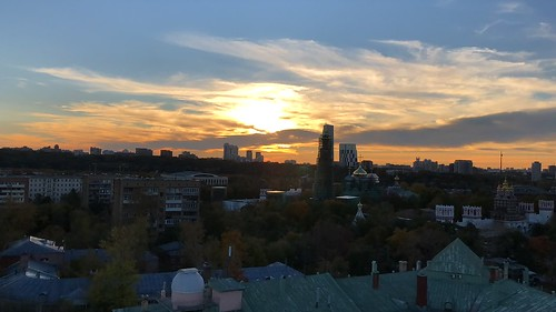 Moscow sunset
