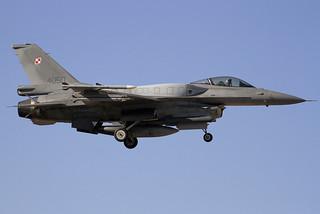 4050. F-16C. Poland AF. LEAB.