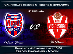 Virtus Verona-Vis Pesaro 0-2 FINALE