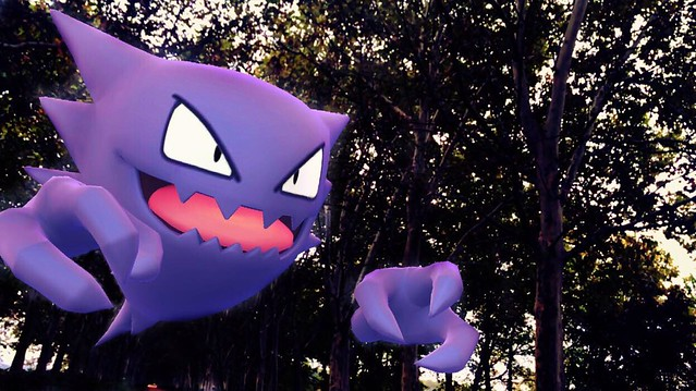 Haunter fantasma de los chopos