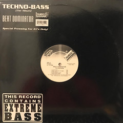BEAT DOMINATOR:TECHNO-BASS(JACKET A)