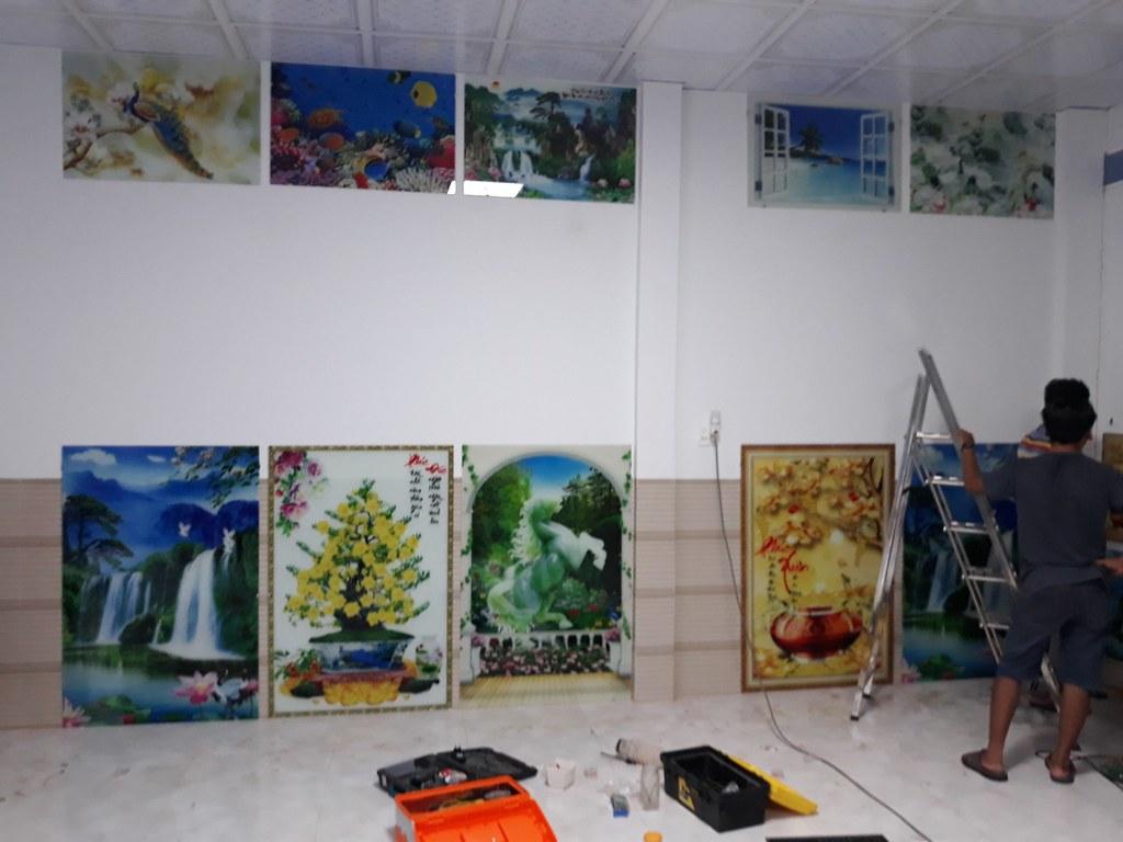 Phạm Khải - Đại lý tranh kính cường lực 3D tại Bạc Liêu