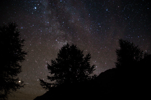 night sky in France