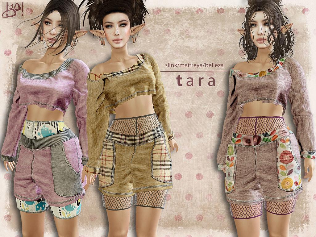 !gO! Tara outfit -Vendor - TeleportHub.com Live!