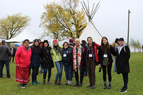<p>A group shot of delegates at Fall Harvest</p>