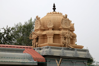 Ashtabuja Bairavar shrine Vimanam