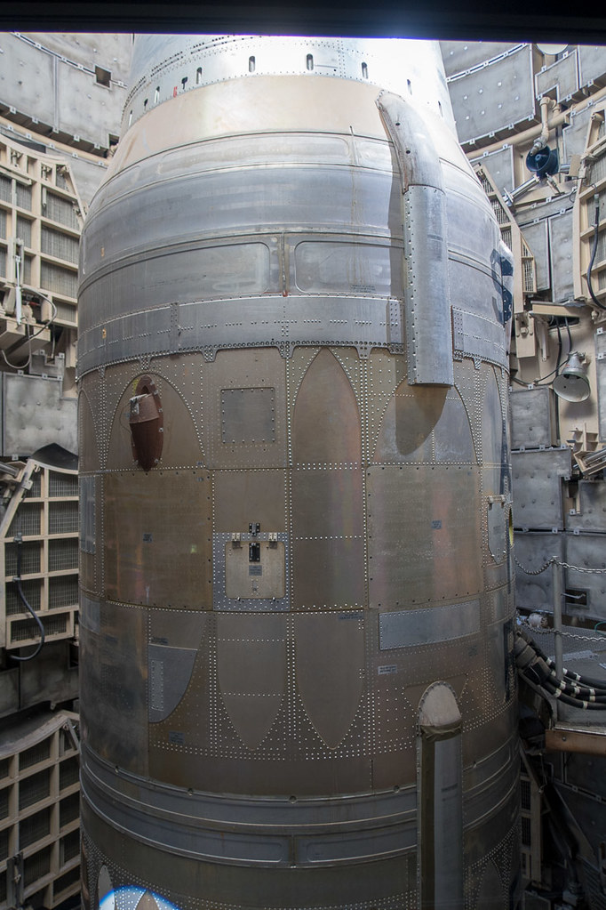 Middle Part of Titan Missile at Museum