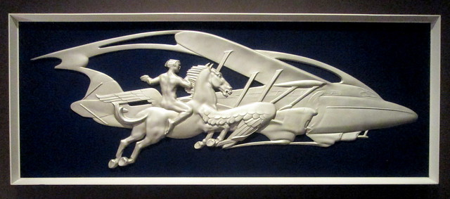 Ocean Liner Art Deco Wall Decoration