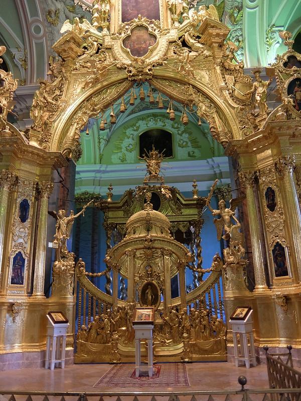 Санкт-Петербург - Петропавловская крепость - Внутри Петропавловского собора