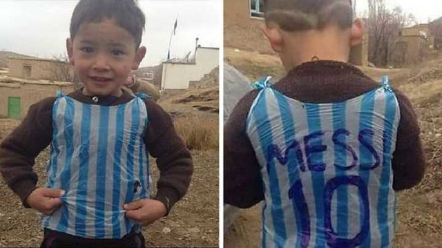 4836 7 years old Afghani fan of Messi threatened by Taliban 01