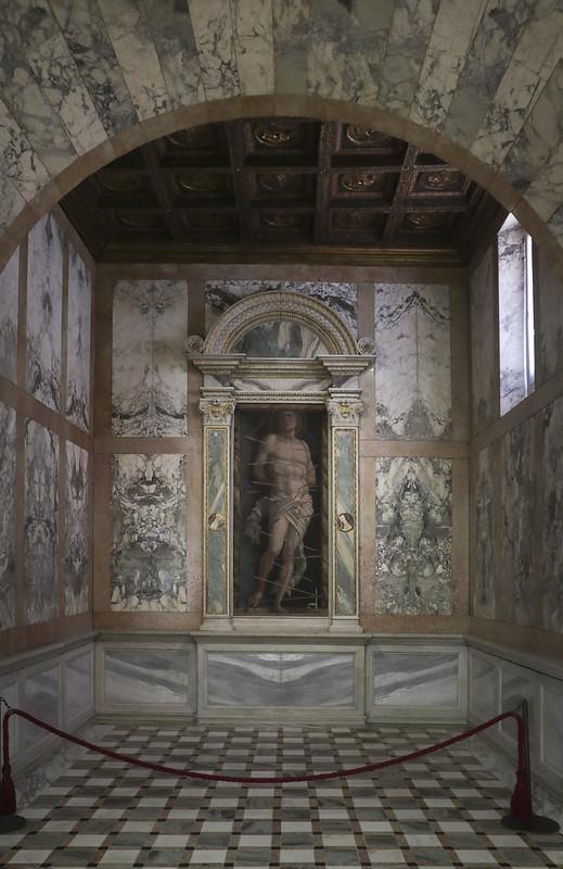 San Sebastiano, Andrea Mantegna, 1431-1506