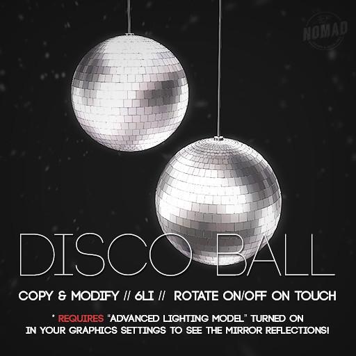 NOMAD // Disco Ball - TeleportHub.com Live!