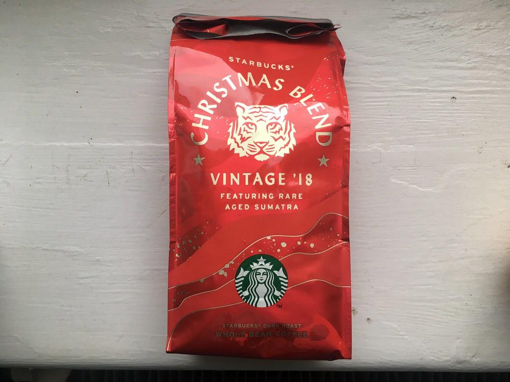 Starbucks Christmas Coffee.Starbucks Christmas Blend 2018 Andrew Taylor Flickr