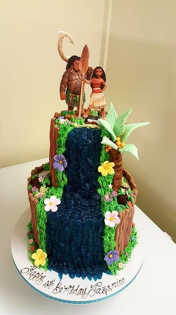 Moana Theme Cake by Ollies Cake House
