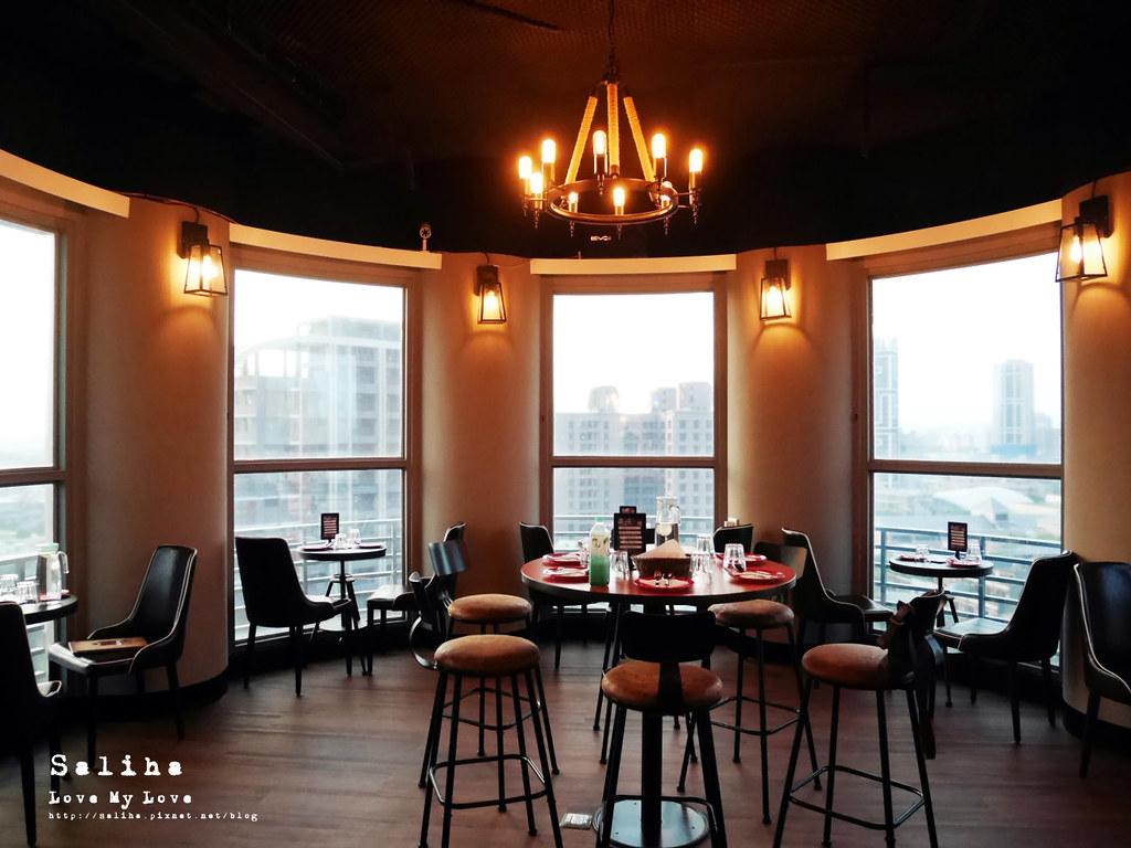 板橋府中站附近氣氛好浪漫約會餐廳美食推薦ABV閣樓餐酒館義大利麵沙拉啤酒 (3)