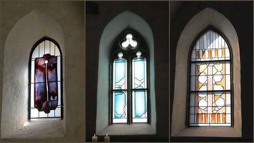 Collage der Fenster, Hubert Spierling