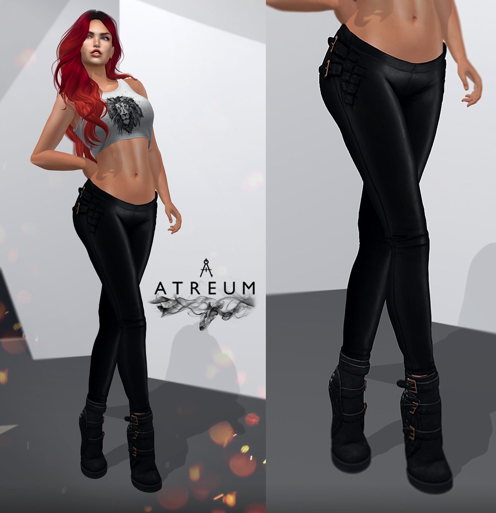 Atreum - Mischka Leather Pants! New release! - TeleportHub.com Live!
