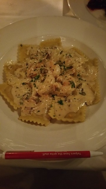 2018-Oct-8 Seasons in the Park- ravioli special of the day