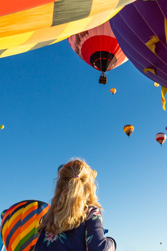 aibf2018 newmexico sunrise fiesta dawn mass ascension 5d3 canon flame girl canonintheclouds hotairballoon albuquerque balloon nm young unitedstates us