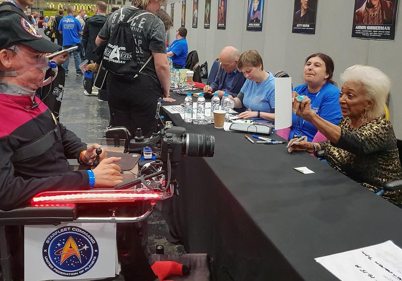 Nichelle Nichols at Destination Star Trek