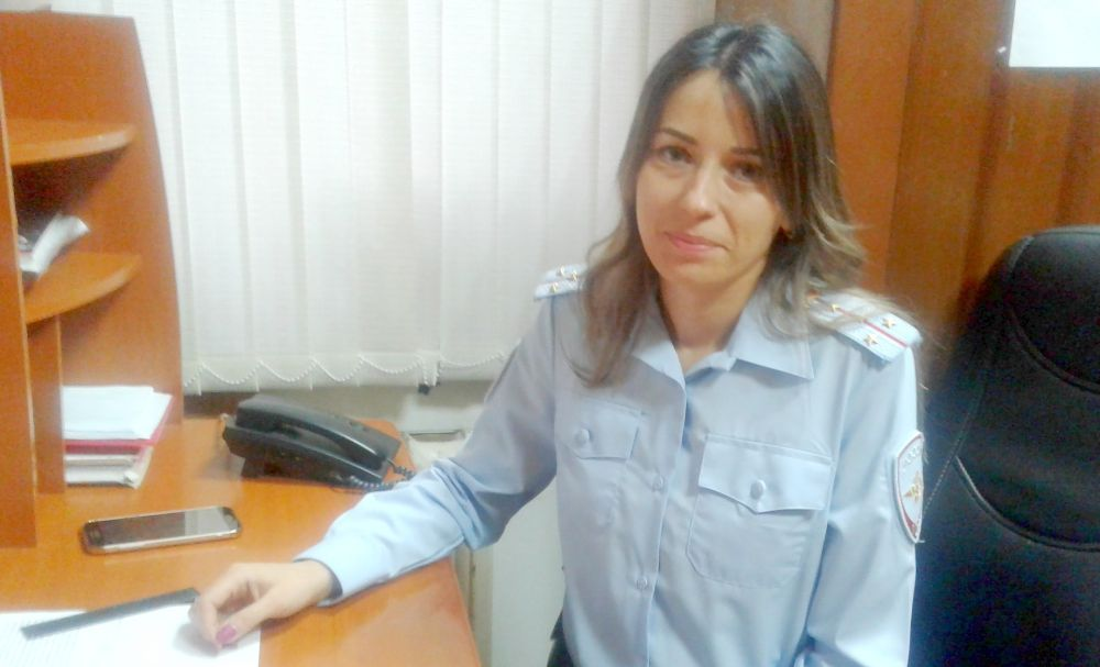 Наталья Куликова, юрисконсульт, старший лейтенант полиции