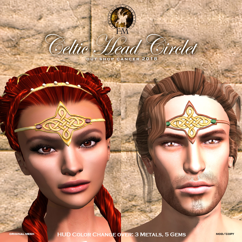 Fund Rising Event – F&M Celtic Head Circlet