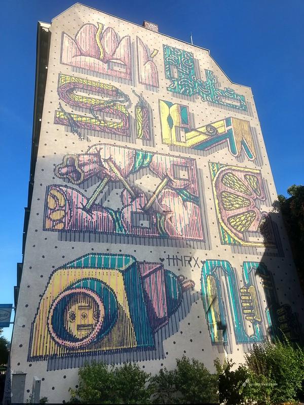 Mural Streetart Plagwitz Leipzig