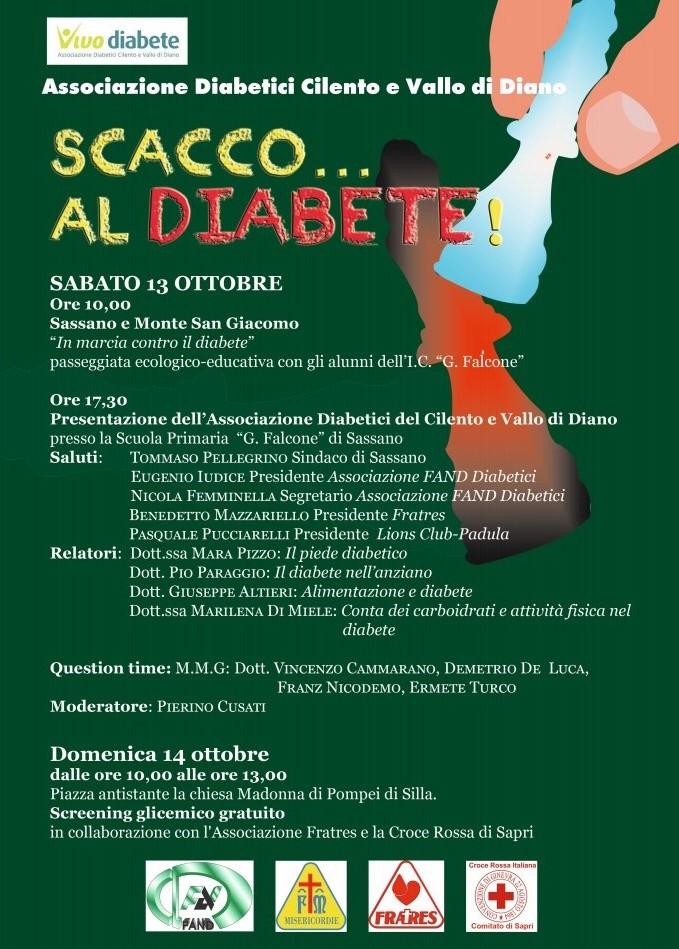 giornata associazione diabetici sassano