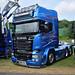 Williamson Haulage Scania R730 Bluestream BB08LUE