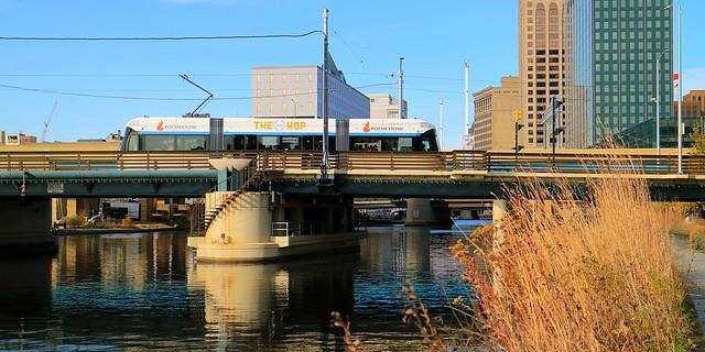The Hop on the St Paul Avenue Bridge