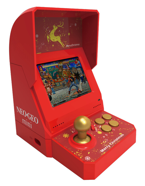 知道聖誕禮物該送什麼了吧?SNK 將推出「NEOGEO mini 聖誕限定版」! クリスマス限定版(NEOGEO mini Christmas Limited Edition)