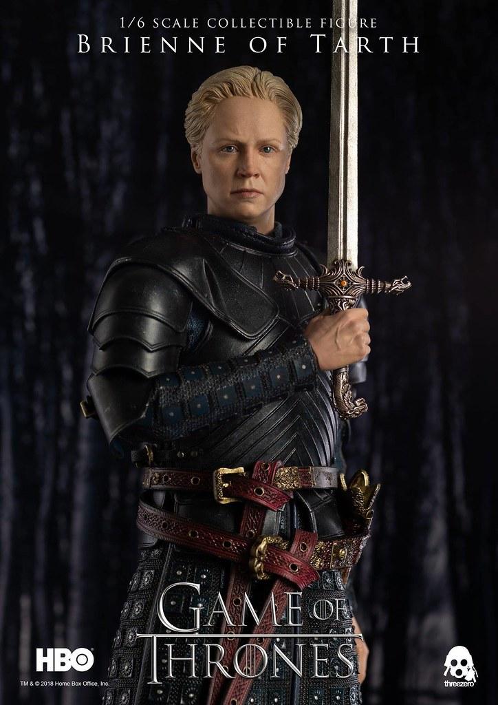 男人們小心啦~美人布蕾妮參戰!! threezero《冰與火之歌:權力遊戲》塔斯的布蕾妮 (第七季)  Brienne of Tarth (Season 7)  1/6 比例人偶作品